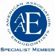 Chad K. Molen, DDS, Draper, Utah Root Canal Specialist, member of American Association of Endodontists logo